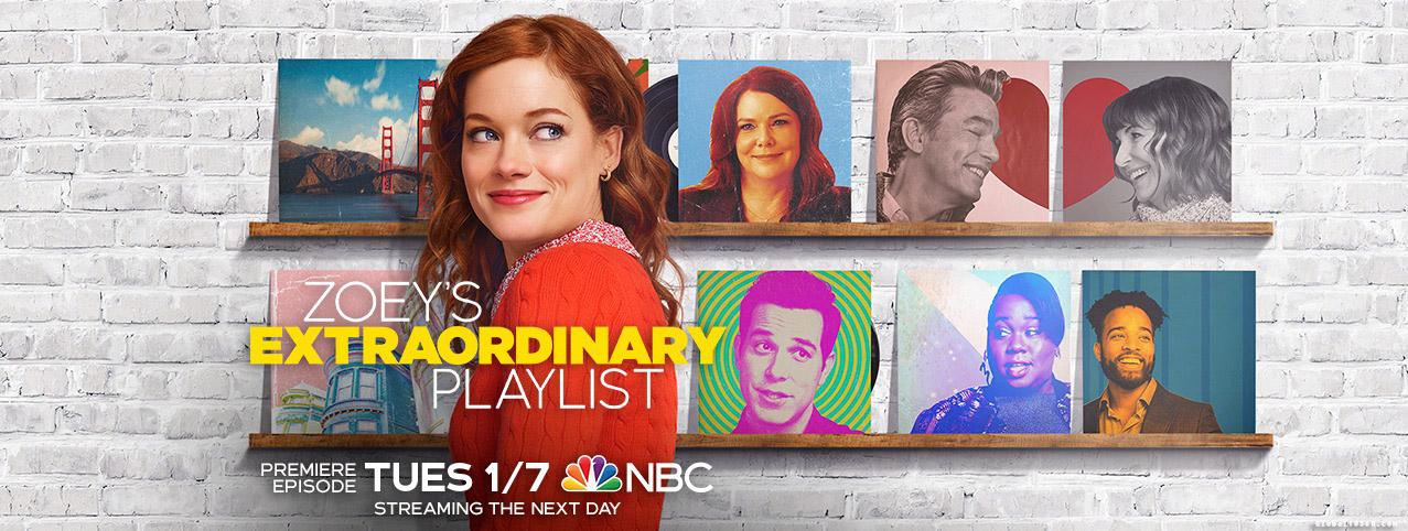 2020年冬春季档新剧 佐伊的不可思议歌曲清单 Zoey's Extraordinary Playlist 第1季 官方海报、官方预告及人物设定剧照