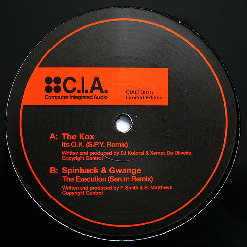 The Kox / Spinback & Gwange - Its O.K. (S.P.Y. Remix) / The Execution (Serum Remix) 2009