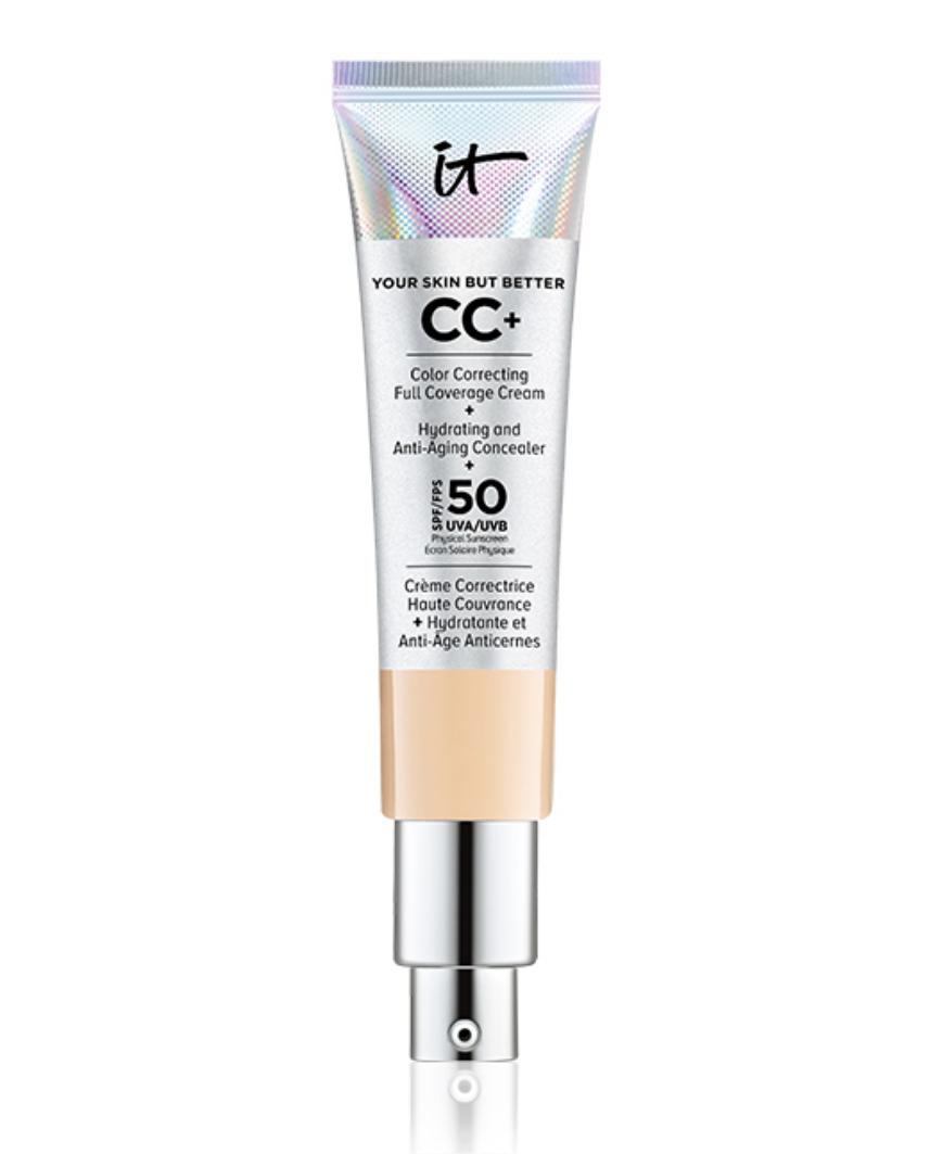 Muestra gratis: CC+ Cream con SPF 50 de IT Cosmetics