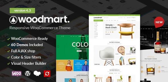 ThemeForest - WoodMart v4.3.0 - Responsive WooCommerce WordPress Theme - 20264492