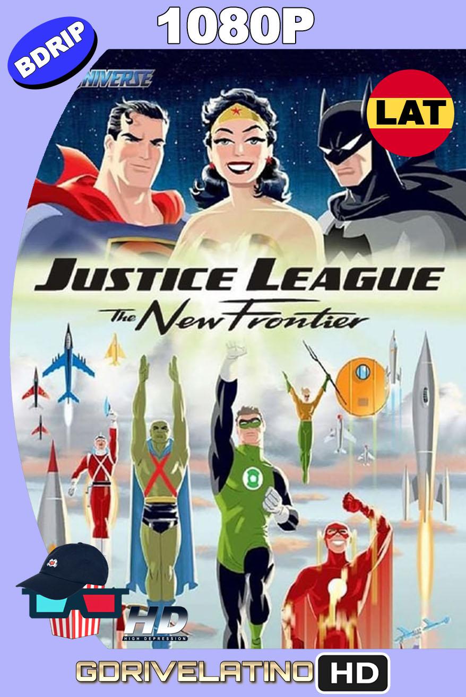 Liga de la Justicia: La Nueva Frontera (2008) BDRip 1080p Latino-Inglés MKV