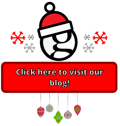 blog button for the Christmas holidays
