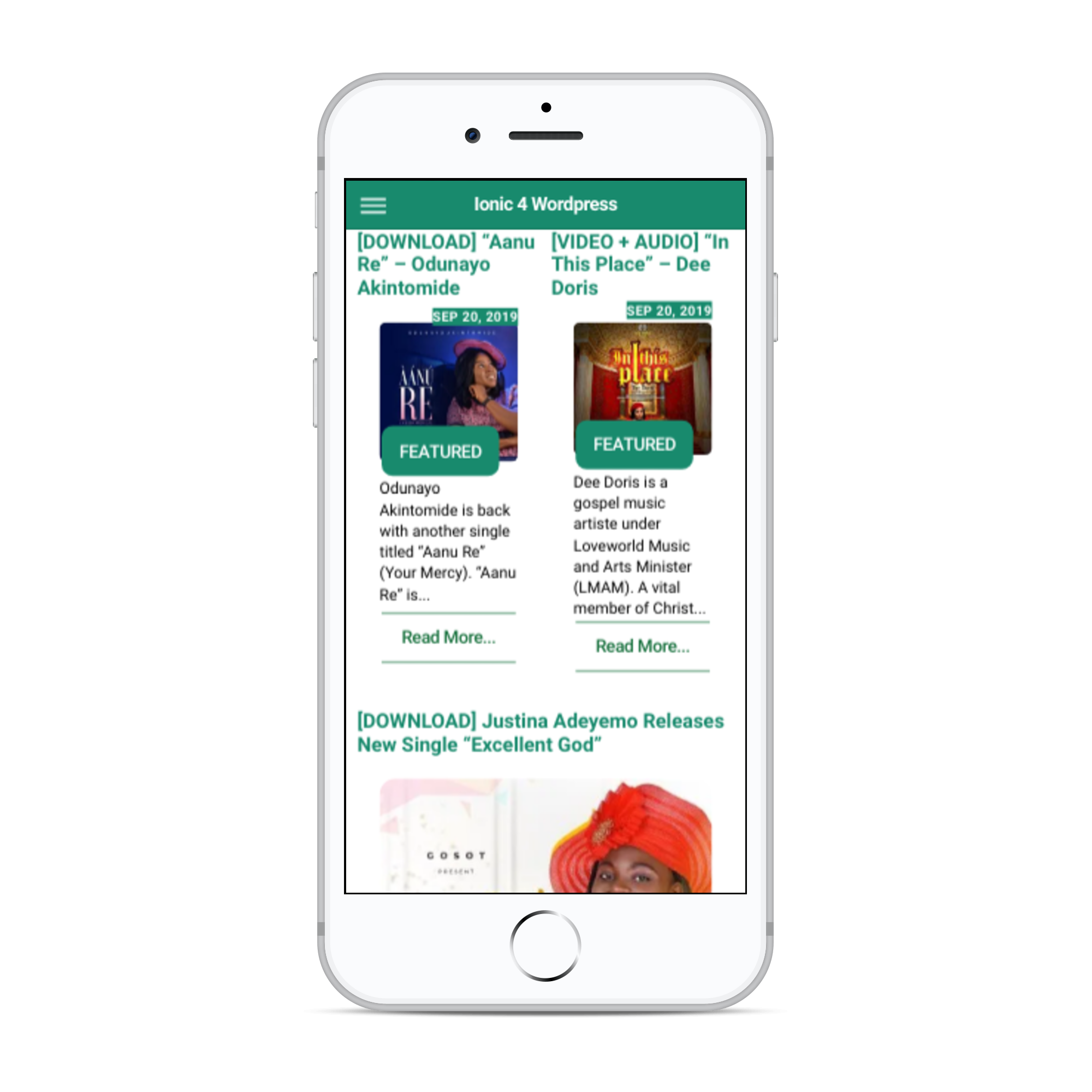 Ionic-4-Wordpress-News