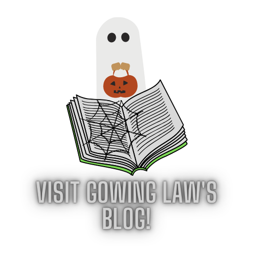 Gowing Law's blog button