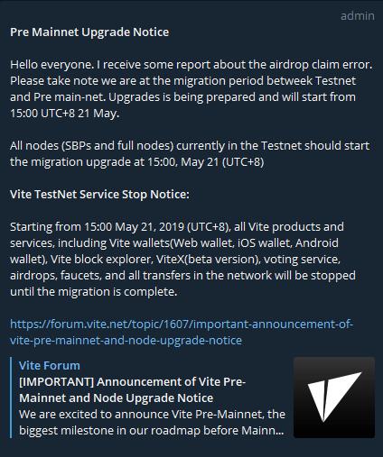OPORTUNIDADE [Provado] Vite Wallet - Nova carteira com tokens Gratis - Android/iOS - (Actualizado em Junho de 2019) - Página 2 UPvite