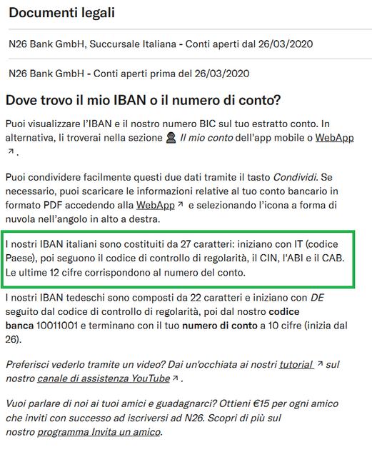 N26-IBAN-ITALIANO