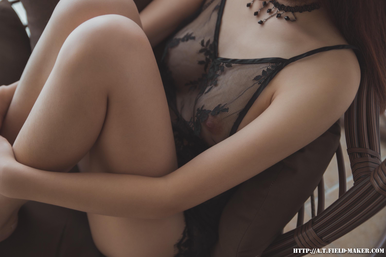 Tsubaki Album vol.006 Sheer lace pajamas 怠いお昼のパジャマ少女 sexy-nightdress-28