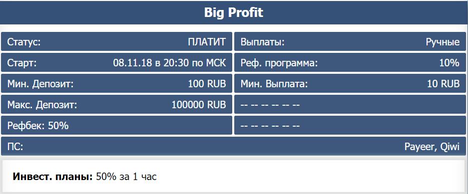 Big Profit - big-profit.org Screenshot-2