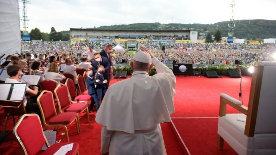 Đức Thánh cha gặp gỡ giới trẻ Slovakia