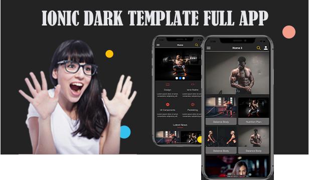 Ionic 5 / Angular 8 Gray UI Theme / Template App | Starter App