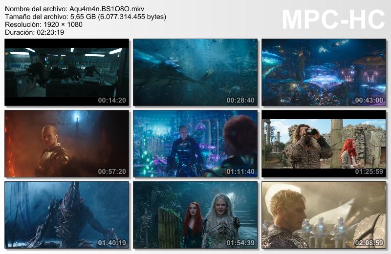 Aquaman (2018)[BR-Screener 1080p][Castellano MiC][Fantástico.Acción][VS]