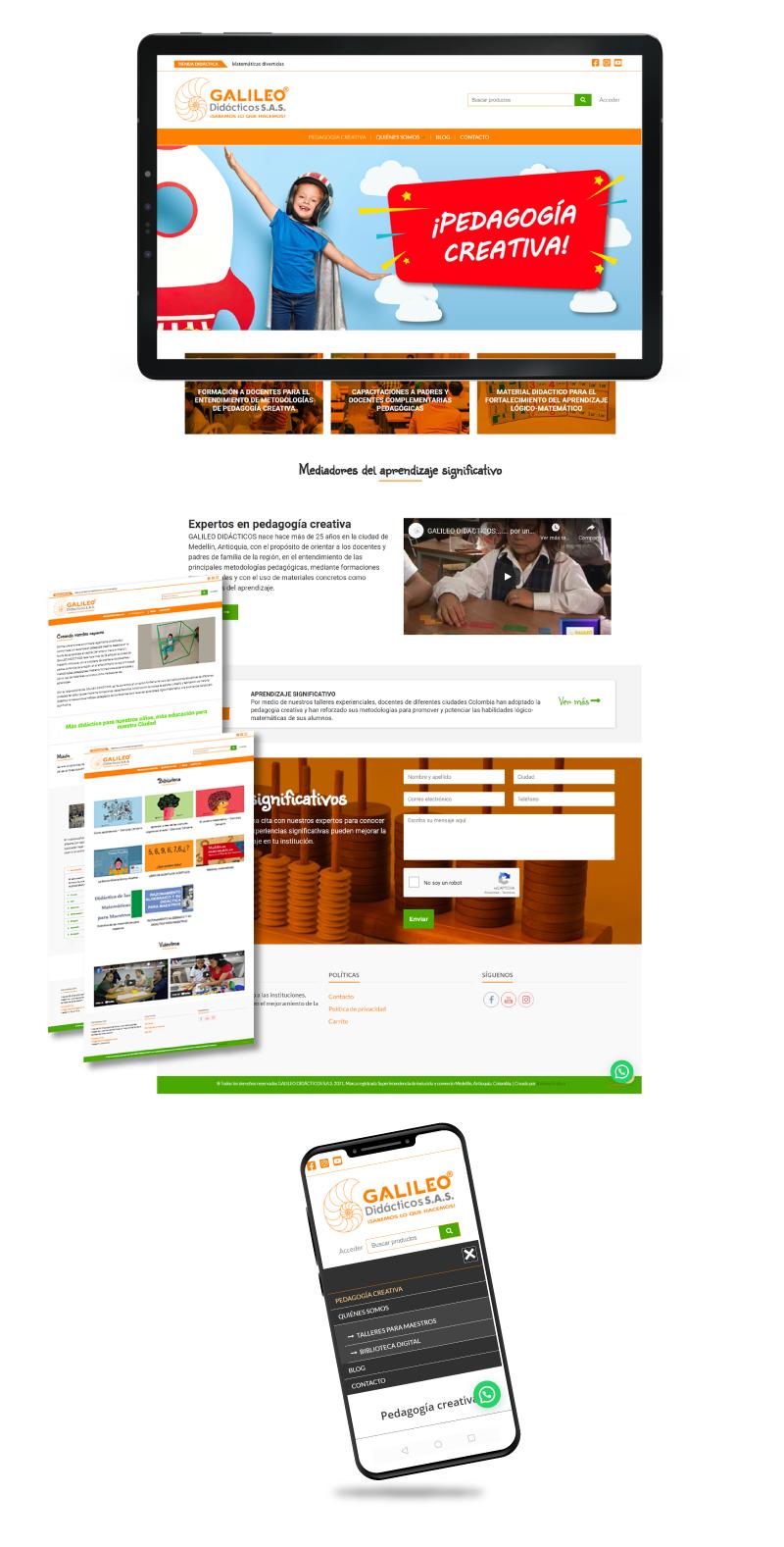 maquetación web