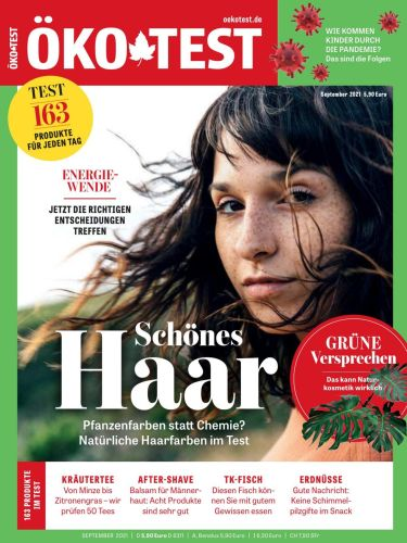Cover: Öko-Test Testmagazin September No 09 2021