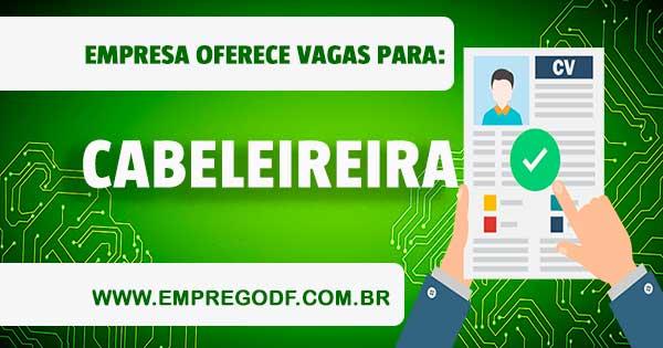 EMPREGO PARA CABELEIREIRA