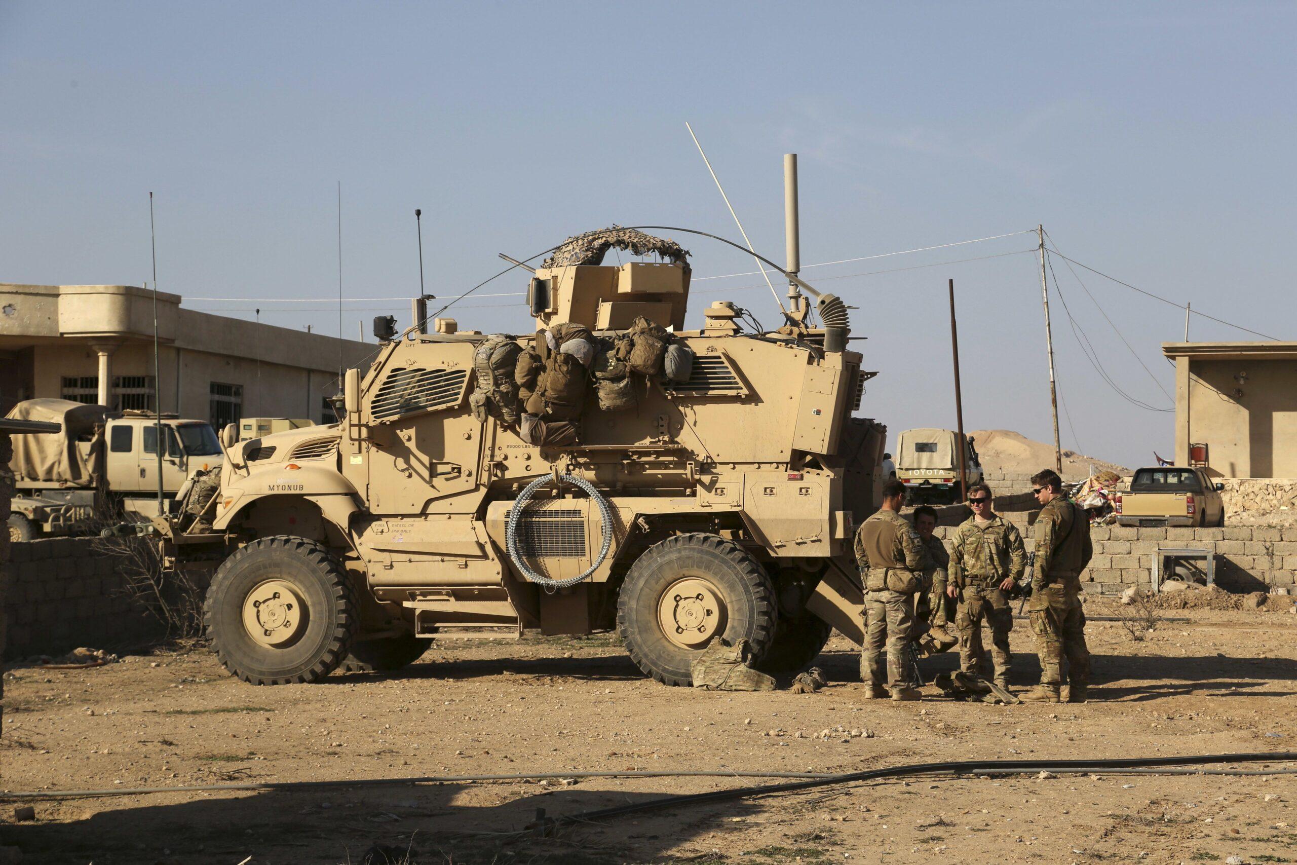 Raketirana iračka vojna baza u kojoj su smješteni američki vojnici