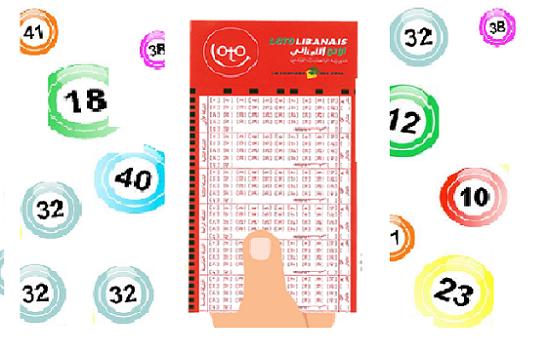 lebanon lotto نتائج سحب اللوتو اللبناني 1821 اليوم الاثنين