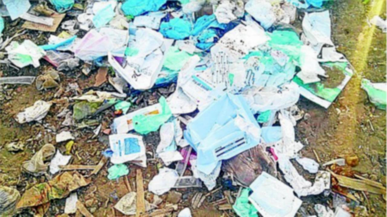 Municipalidad denuncia hallazgo de residuos hospitalarios en Cancharani