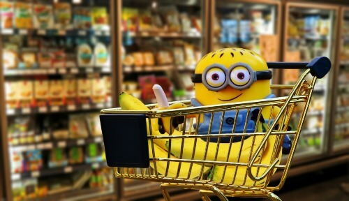 Imagen Supermercado. Convenio colectivo comercio alimentación Murcia