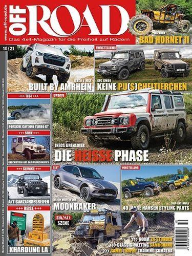 Cover: Off Road Automagazin No 10 Oktober 2021