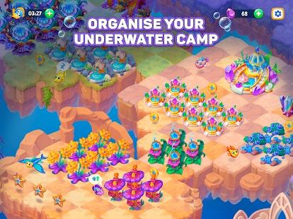 Sea Merge Fish Games in Aquarium & Ocean Puzzle 7