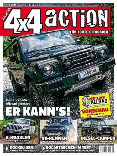 Cover: 4x4action Magazin für echte Offroader No 06 November-Dezember 2021