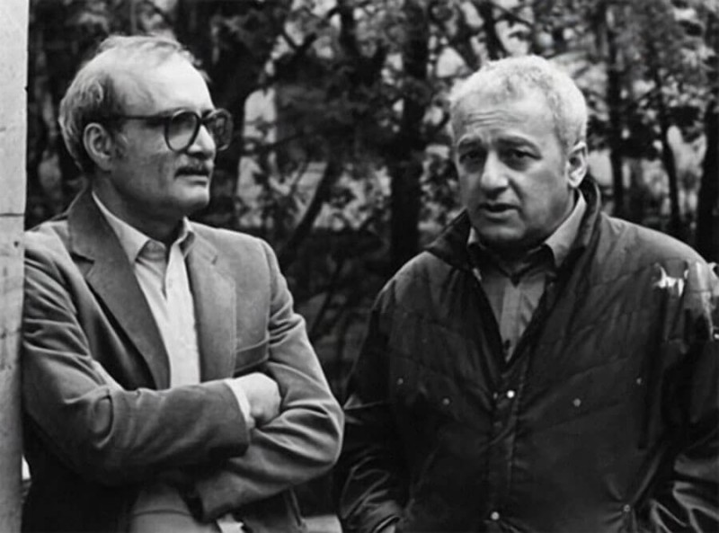 Два гения - Георгий Данелия и Резо Габриадзе