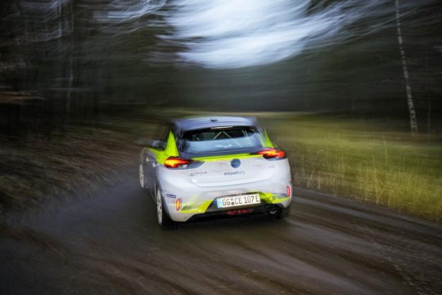 Le calendrier de l'ADAC Opel e-Rally Cup est fixé Opel-Corsa-e-Rally-513861