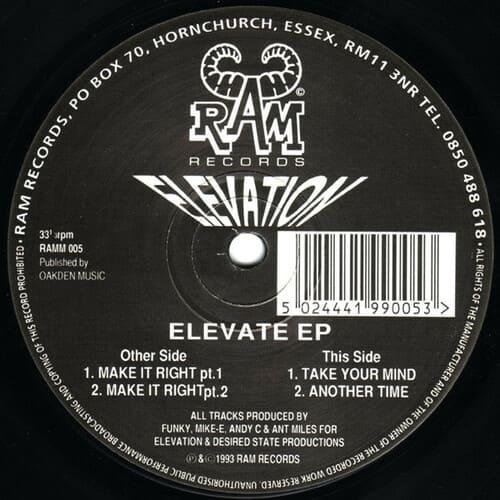 Elevation - Elevate EP