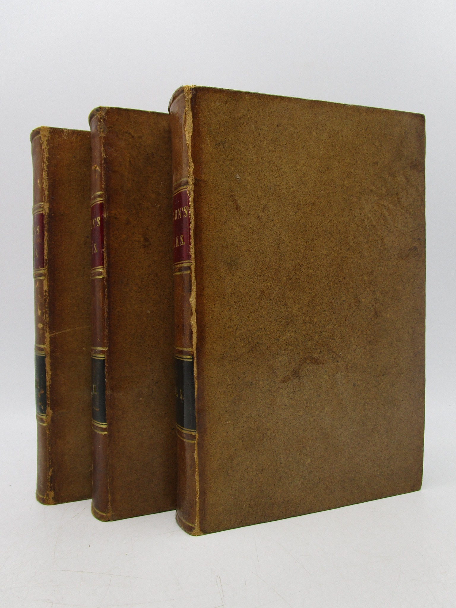 """Image for The Works of Joseph Addison Complete in Three Volumes Embracing the Whole of the """"Spectator,"""" (3 volumes)"""