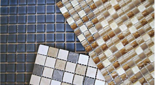 Основные виды мозаичной плитки