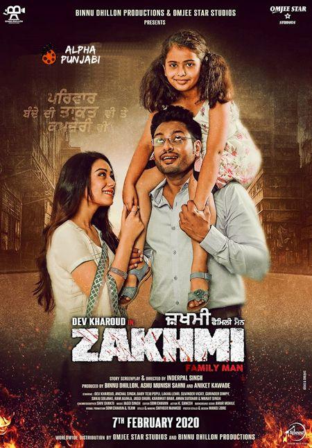 Zakhmi (2020) Punjabi 720p HDTVRip x264 1.1GB MovCr