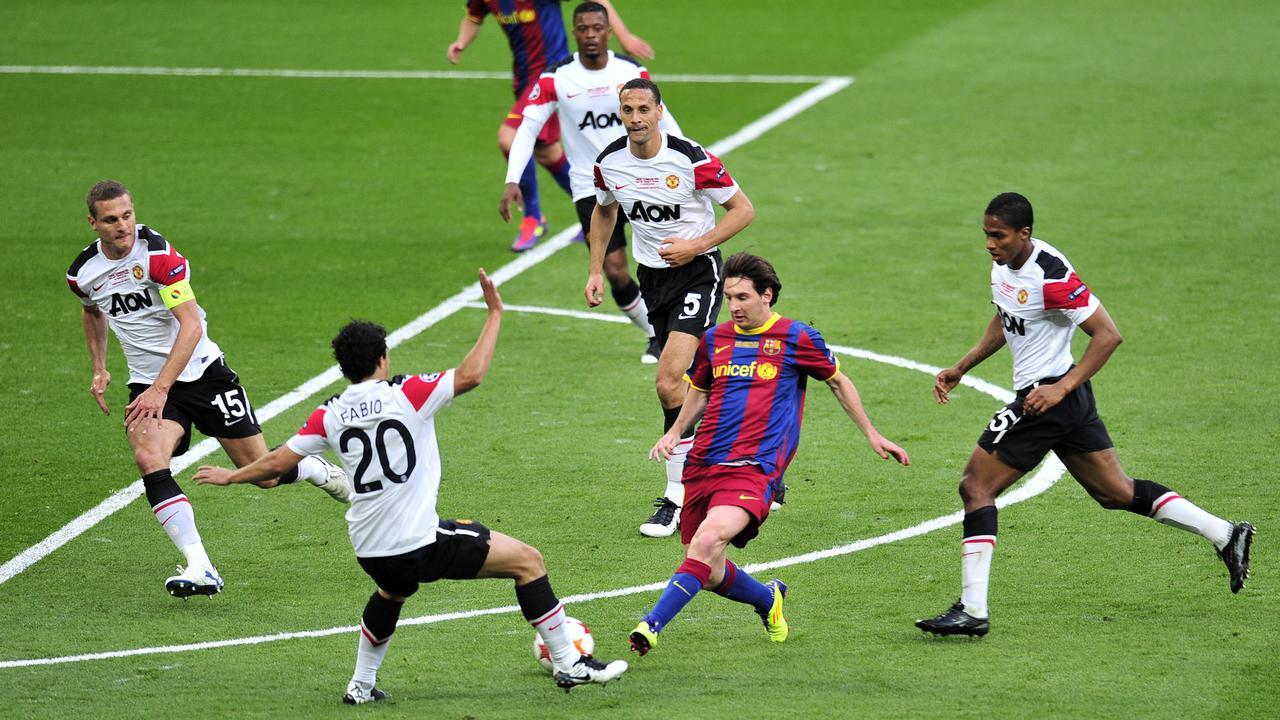 Andalkan Messi, Barcelona Belum Tentu Singkirkan MU