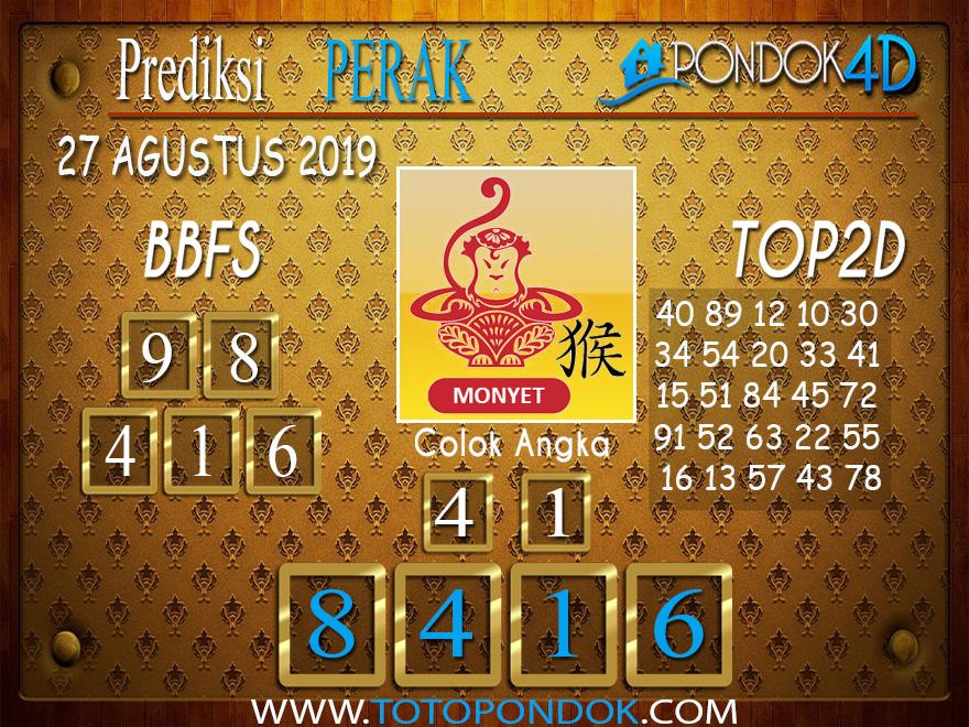 Prediksi Togel PERAK POOLS PONDOK4D 27 AGUSTUS 2019