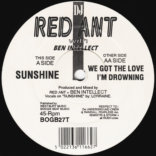 DJ Red Ant with Ben Intellect - Sunshine