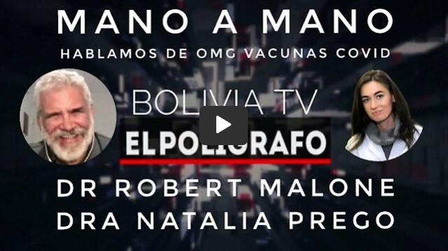 ROBERT MALONE CON NATALIA PREGO MANO A MANO HABLAMOS SOBRE VACUNAS Y SALUD.