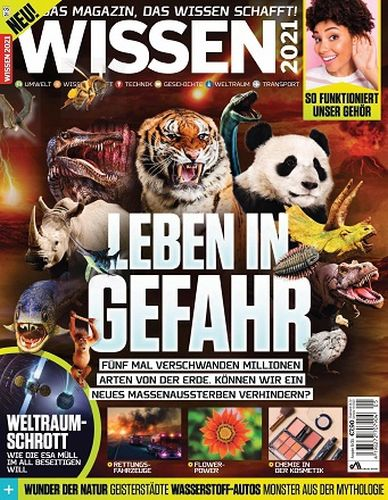 Cover: Wissen Das Magazin das Wissen schafft No 05 2021