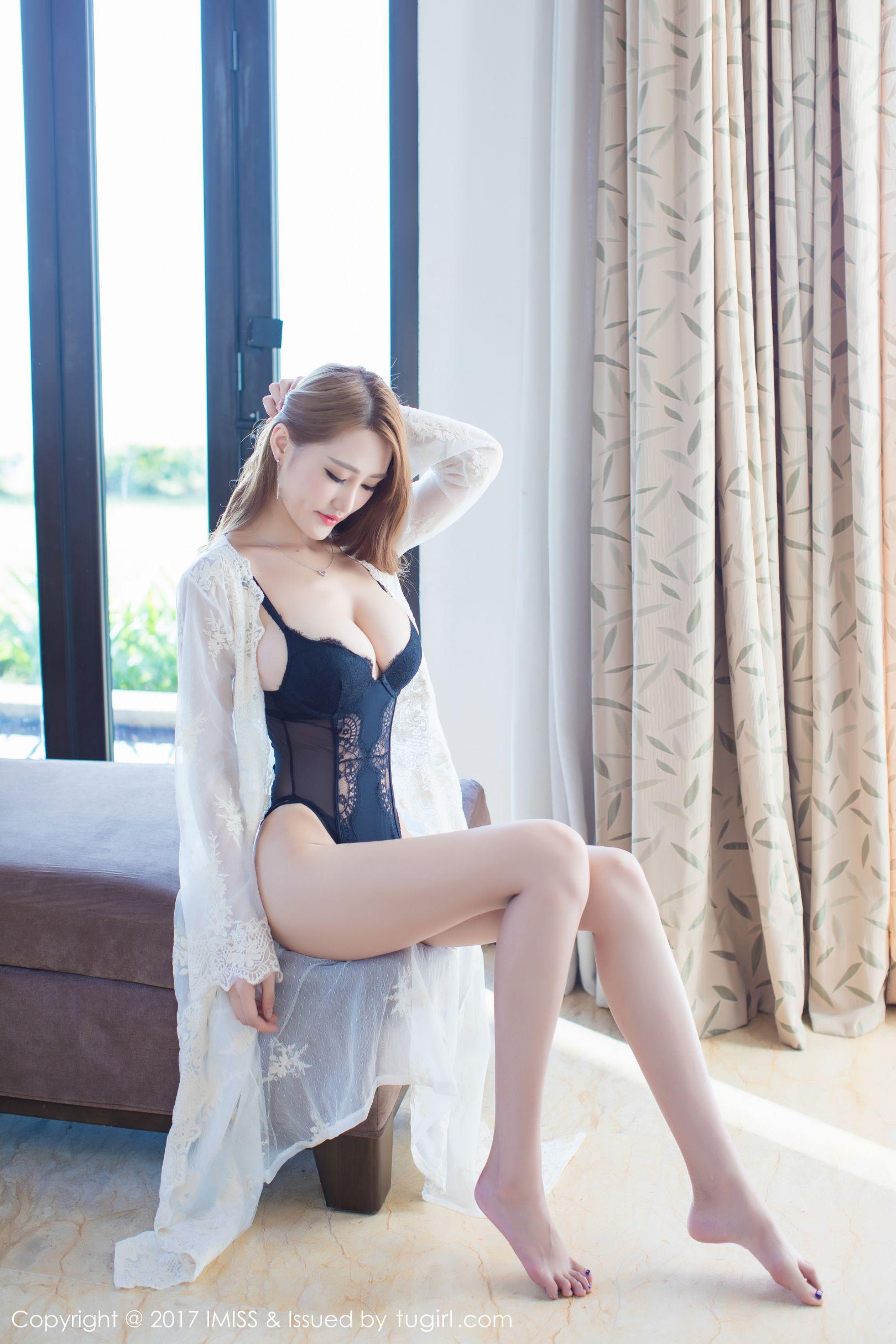 [IMiss 爱 蜜 社] Vol.168 Temperament Beauty @ 妤 薇 Vivian 沙巴 旅 Take the third set of photos