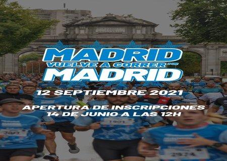 Abren las inscripciones de Madrid corre por Madrid que se celebrará el 12 de septiembre