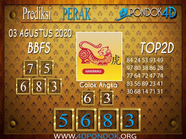 Prediksi Togel PERAK PONDOK4D 03 AGUSTUS 2020
