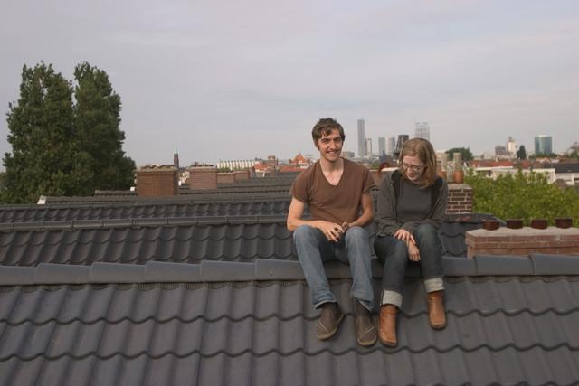 Gaelan-and-Brendan-on-his-roof