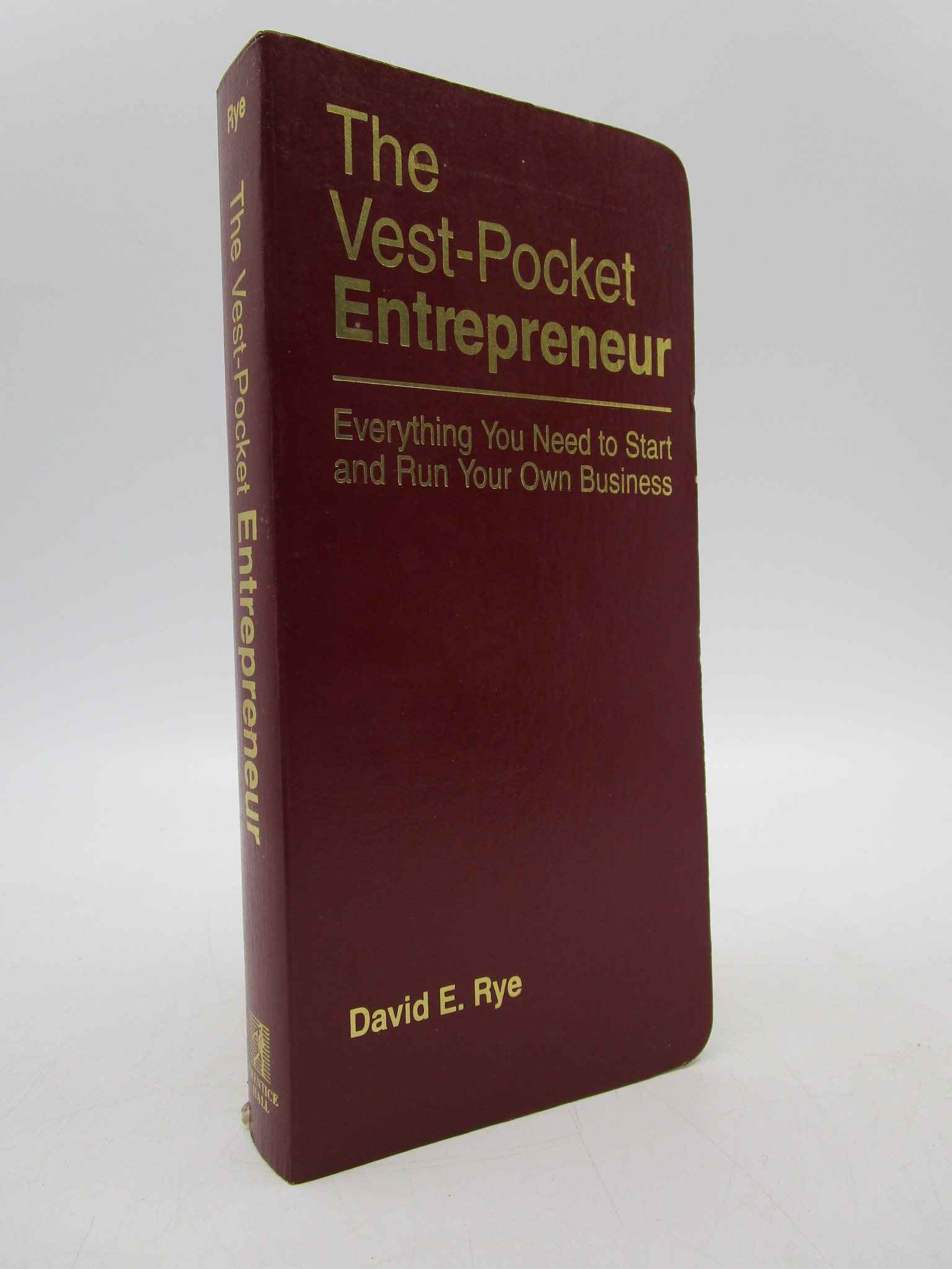 Image for The Vest-Pocket Entrepreneur: Everything You Need to Start and Run Your Own Business