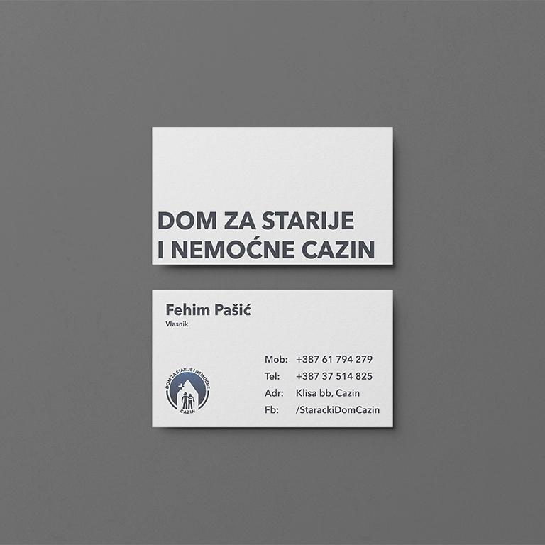 Business Card for Nursing Home