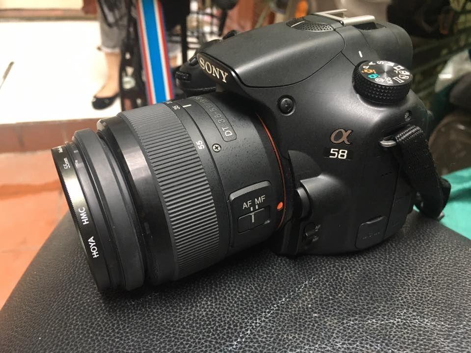 máy ảnh sony A58 và lens kit - 3