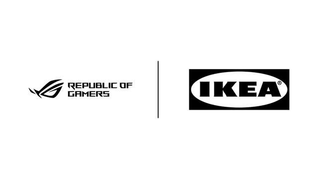 瑞典傢俱品牌IKEA與華碩遊戲品牌玩家共和國(ROG)宣佈合作,將共同開發30餘種適合居家遊戲的商品 Image