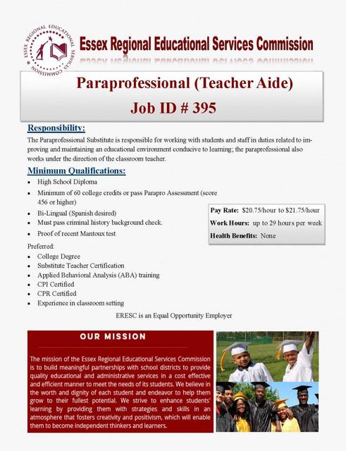 PT-Paraprofessional-Recruitment-Flyer-9-13-19