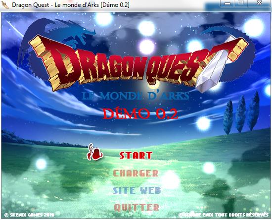 Dragon Quest - Le monde d'Arks (Démo 0.2) (02/08) 1