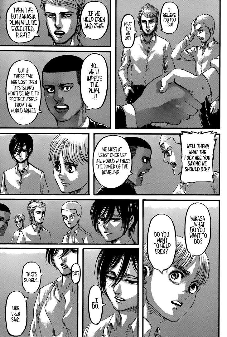 Shingeki No Kyojin, Chapter 118 - Attack On Titan Manga Online