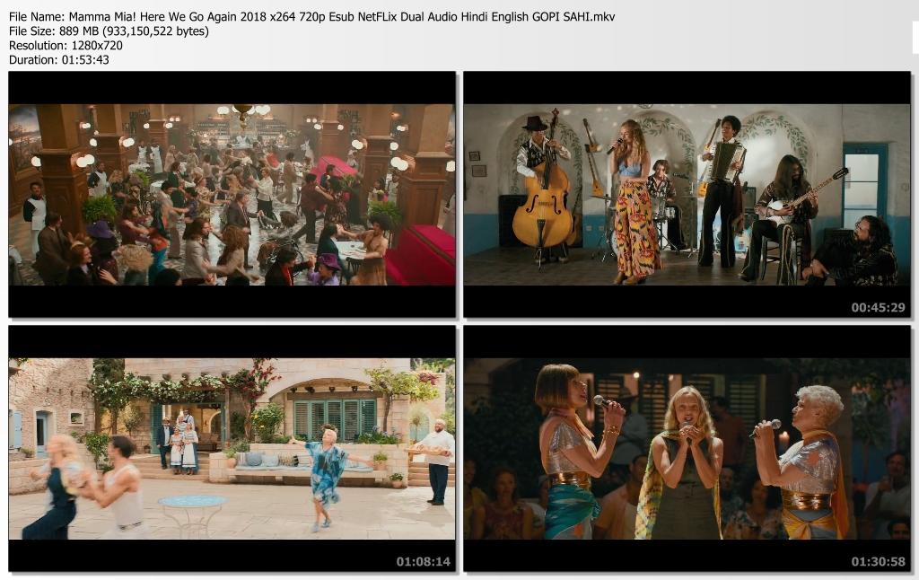 Mamma Mia Here We Go Again Screen Shot 2