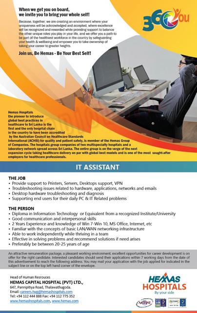 4343c-IT-Assistant-advert