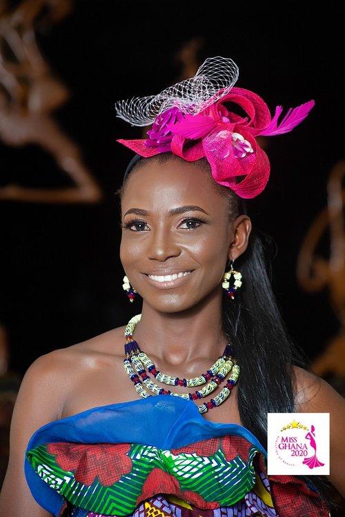 candidatas a miss ghana 2020. final: 21 de agosto. 10